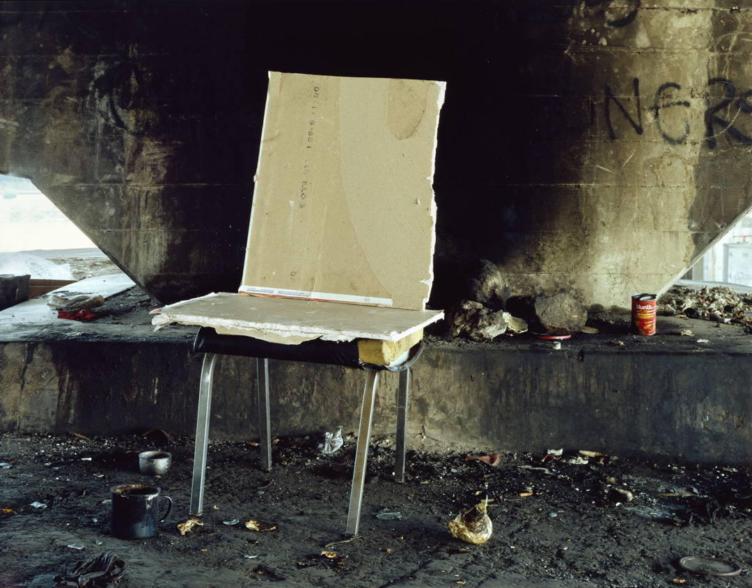 Landscapes for the Homeless #18, 1989 - LR