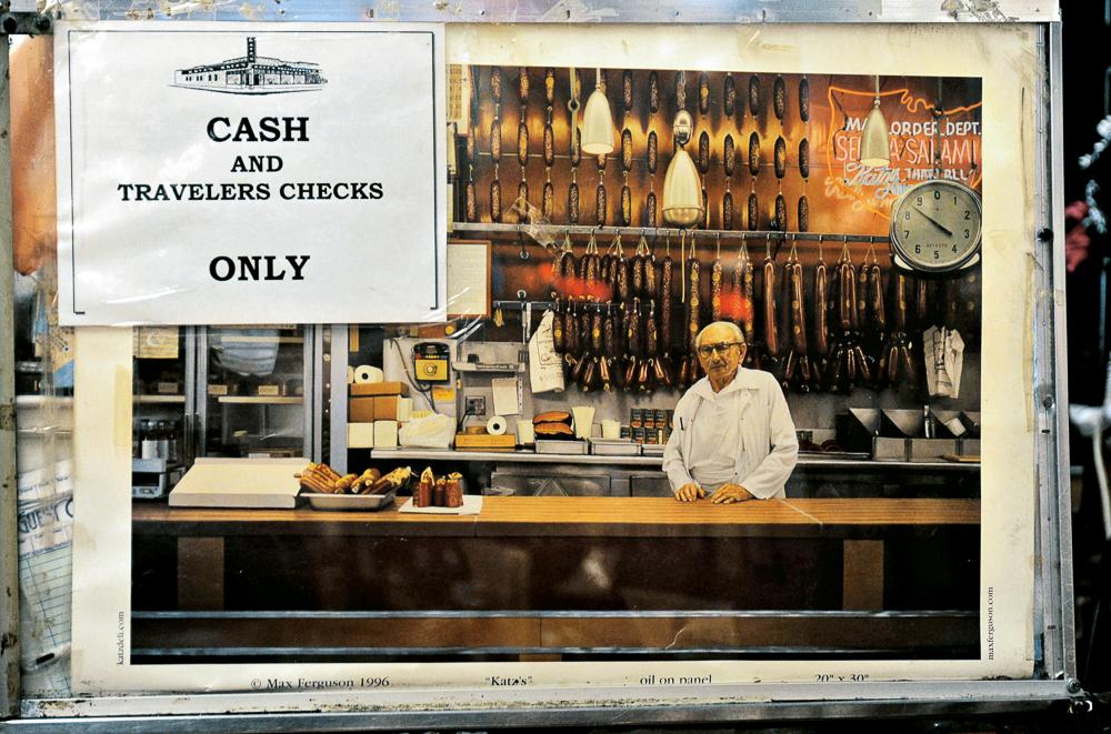 91. Katz's Delicatessen, Cash Register_
