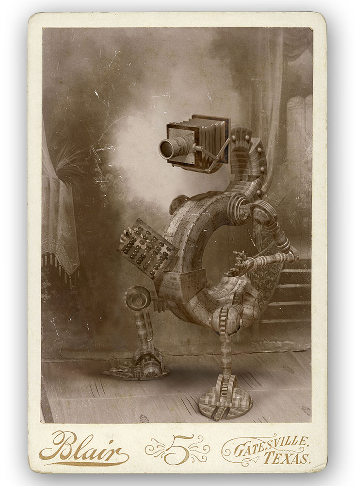 CEdward Bateman Carte De Visite Adding Machine