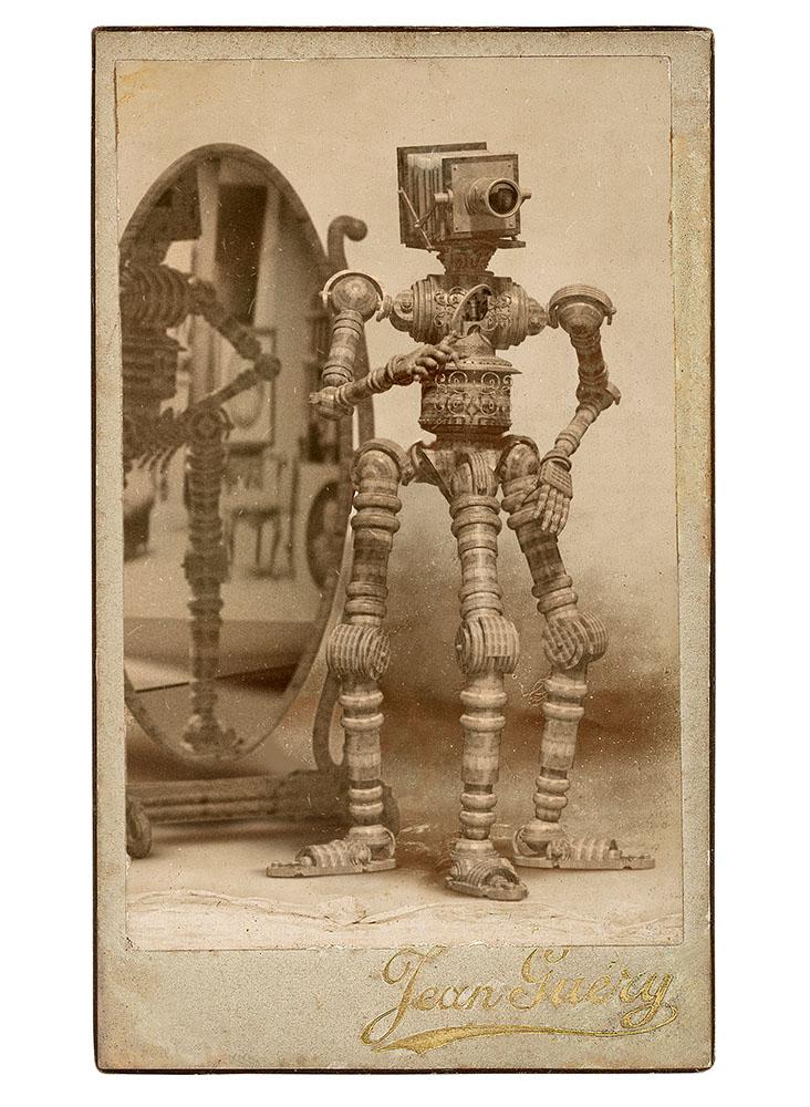EdwardBateman_CDV Tripod Automaton_2008