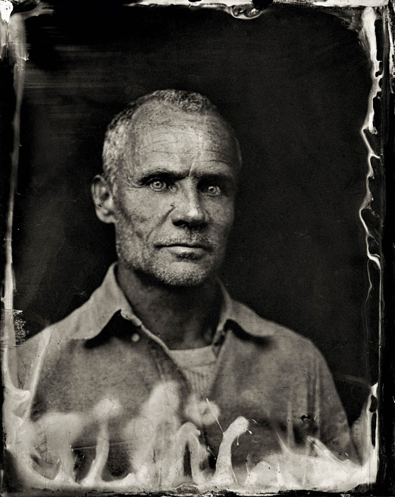 EXCLUSIVE PREMIUM RATES APPLY- Flea poses for a tintype (wet collodion) portrait at The Collective and Gibson Lounge Powered by CEG, during the 2014 Sundance Film Festival in Park City, Utah. (Photo by Victoria Will/Invision/AP)
