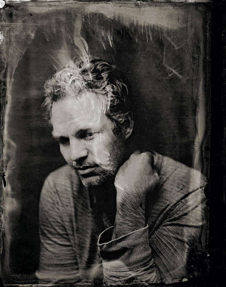 EXCLUSIVE PREMIUM RATES APPLY-  Mark Ruffalo poses for a tintype (wet collodion) portrait at The Collective and Gibson Lounge Powered by CEG, during the 2014 Sundance Film Festival in Park City, Utah. (Photo by Victoria Will/Invision/AP)