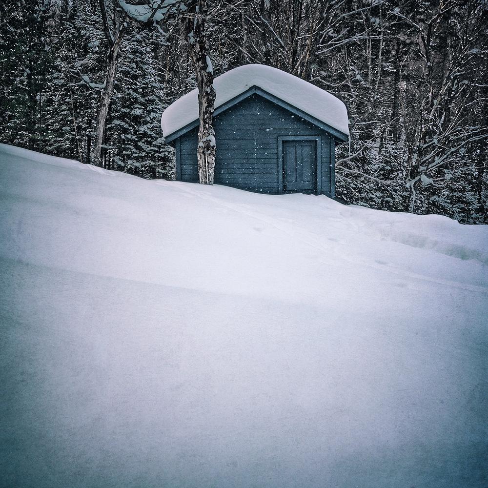 Snow Storm, St. Agathe, Quebec, Canada