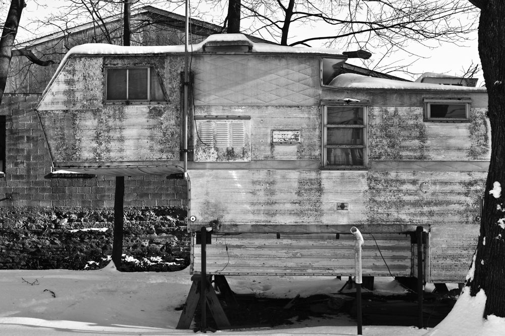 Mobile Home. Harrison St. 2017