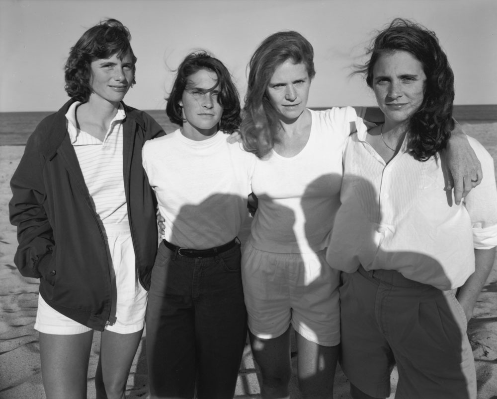 NN-1984_The Brown Sisters, Truro, Massachusetts, 1984