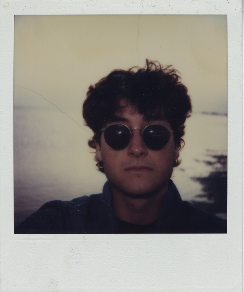 polaroid 80s Self portrait