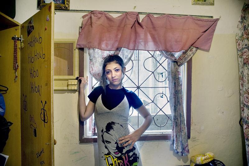 Rania_Matar_Hiba, Shatila Palestinian Refugee Camp, Beirut Lebanon