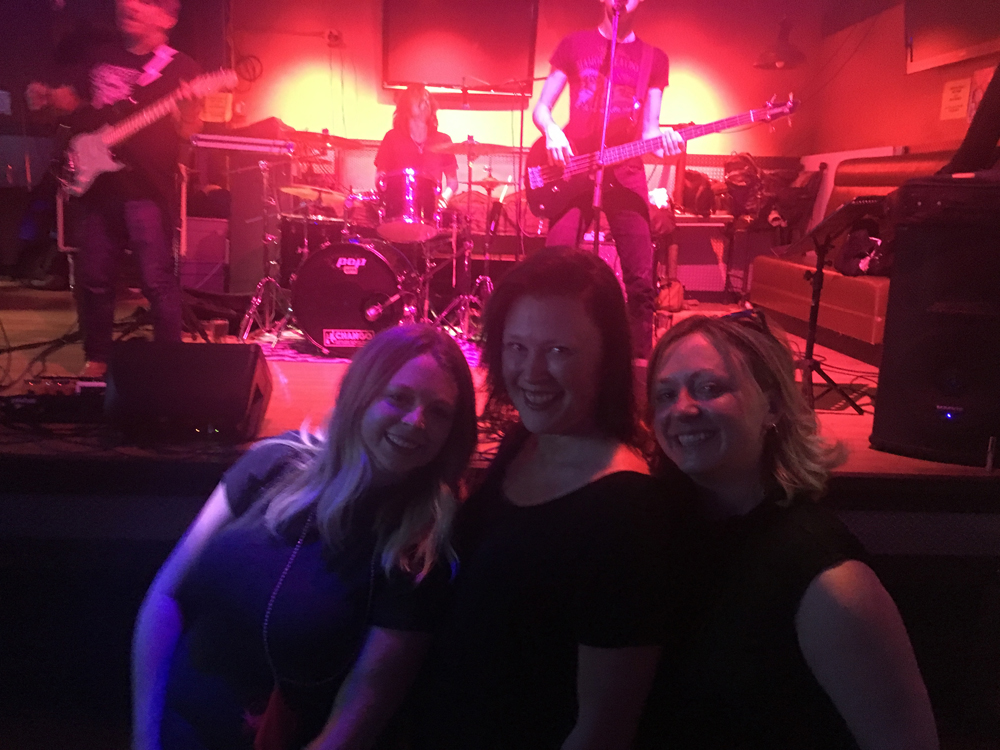 Savannah Sakry, Melanie McWhorter and Anne at a show