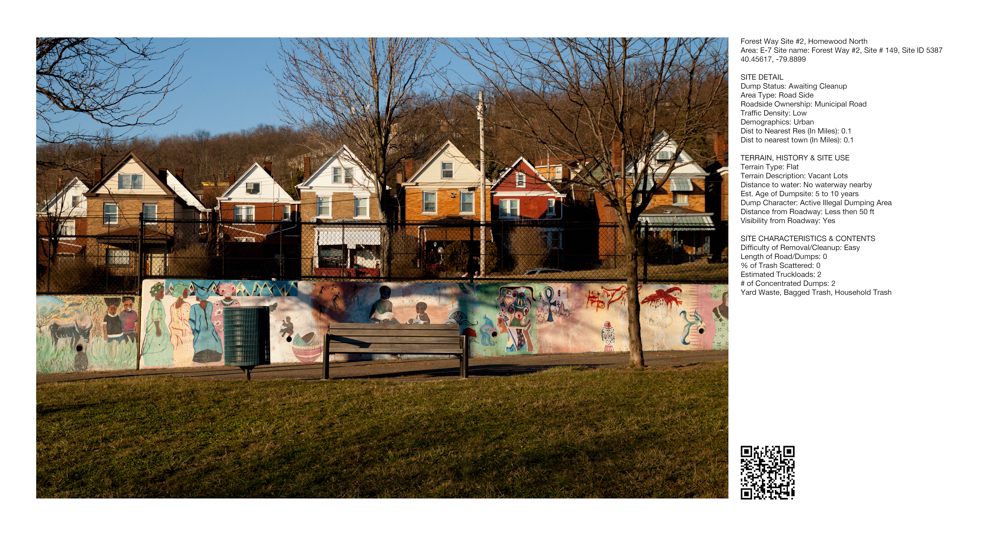 Christine Holtz and Lauren S. Zadikow: 50 Greenspace Dumpsites
