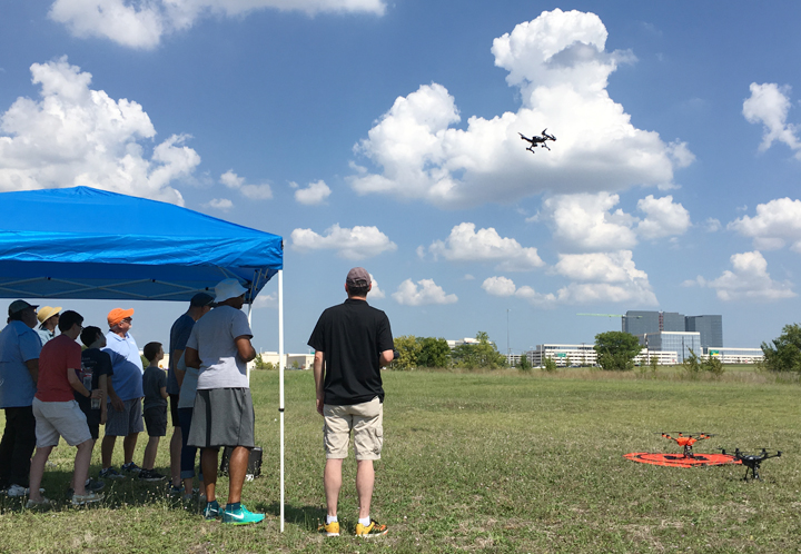 Part II_7_Drone test flight workshop, instructed by YUNEEC in Frisco, Texas