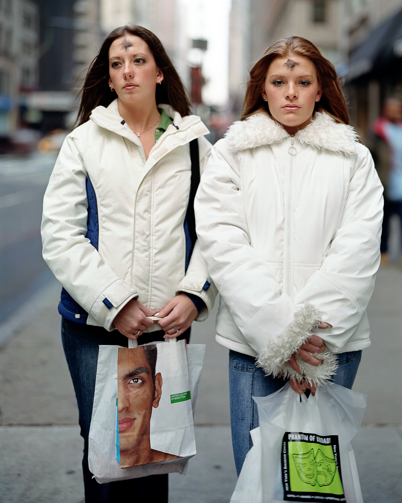 Julia Bowers and Lindsay Lesko, March 5, 2003.