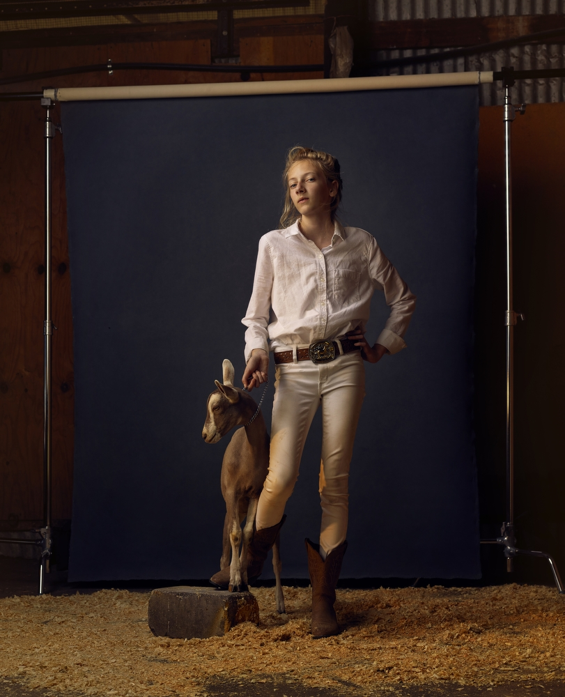 "Kenzi and Hootie, Anoka County Fair, Minnesota, 2016. From the project, ""The Unchosen Ones."""