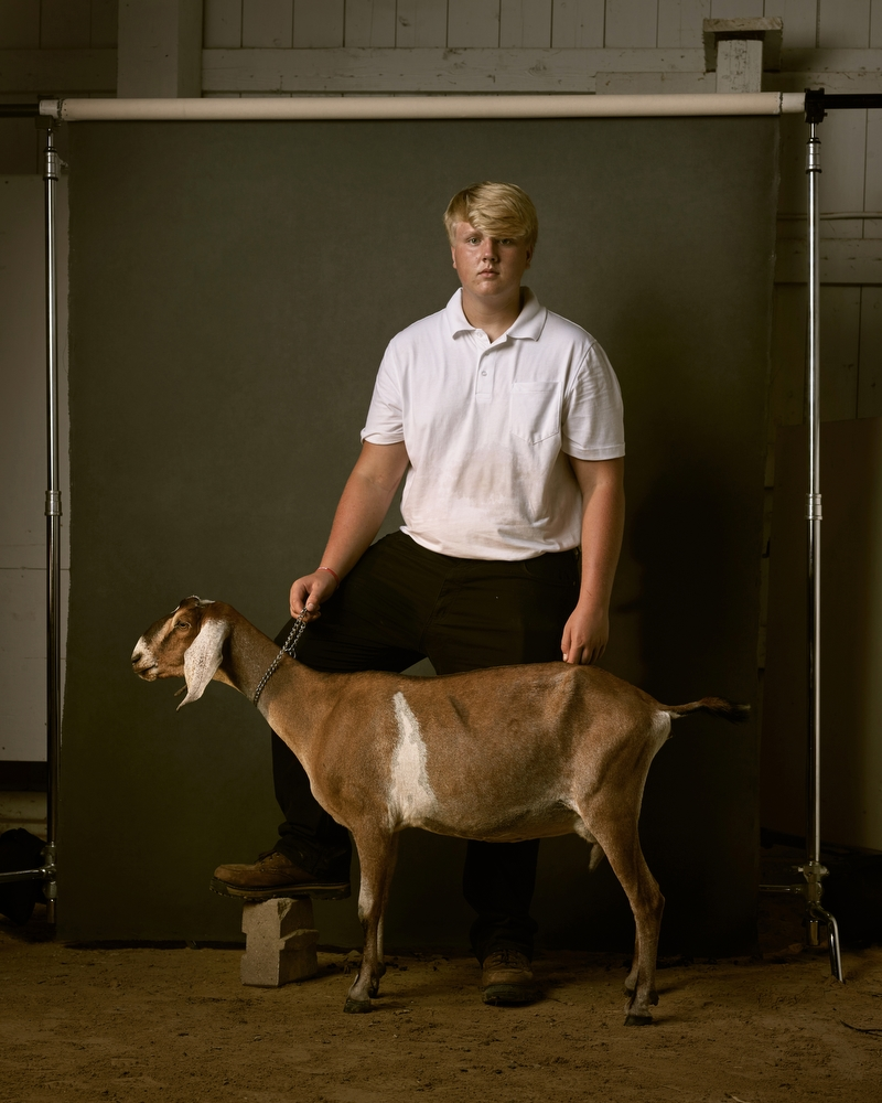 "Louis and Dumb, Freeborn County Fair, Minnesota, 2016. From the project, ""The Unchosen Ones."""