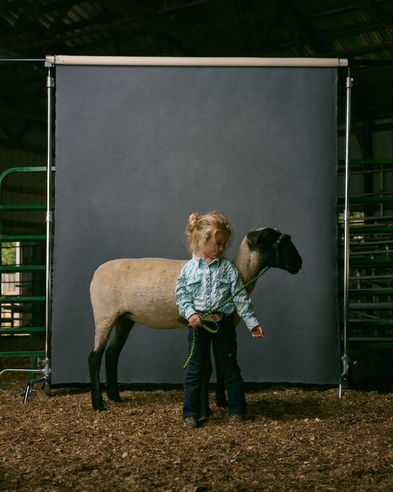 "Rylee and Nelly, Clay County Fair, Minnesota, 2016. From the project, ""The Unchosen Ones."""