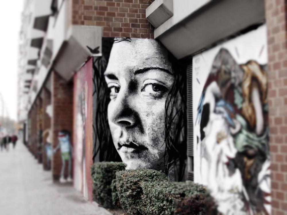 Drifter Nick Berlin - Street Art November 2016