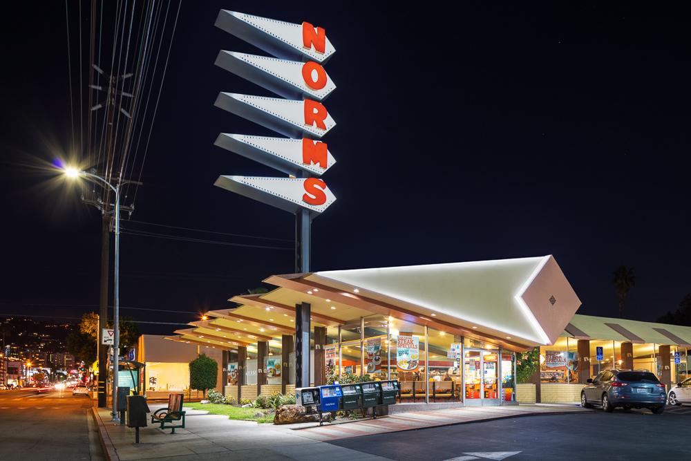 Norm's Coffee Shop 470-478 N. La Cienega Blvd. Los Angeles, CA 90048
