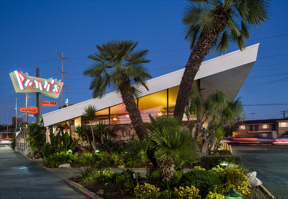 Pann's Coffee Shop 6710 La Tijera Blvd. Los Angeles, CA 90045