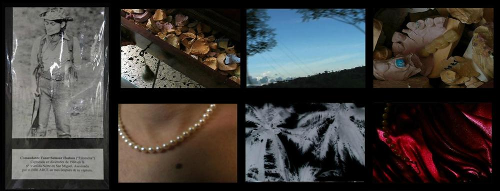Pax Tecum Filomena, Janet Samour Hasbun + video stills, 2007.