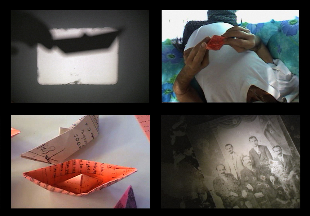 barquitos de papel/paper boats, video stills, 2006.