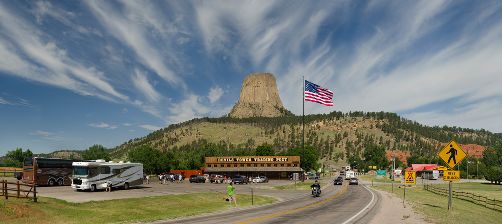 Devil's Tower, near Hulett, Wyoming. ©Rich Frishman ALL RIGHTS RESERVED