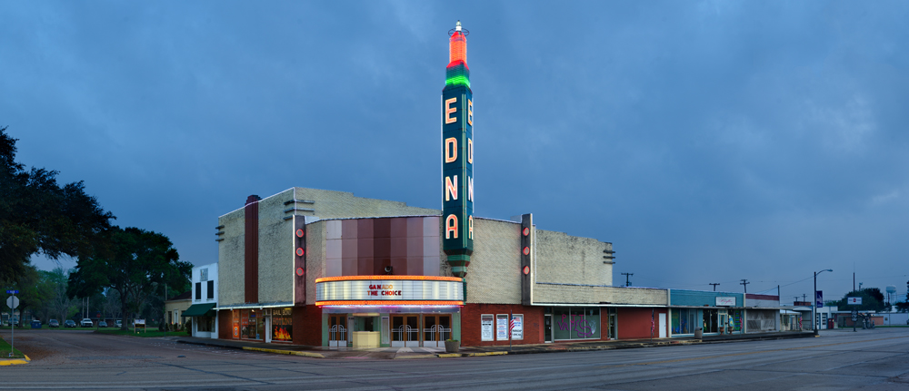 Edna Theatre; Edna, Texas 2016 ©Rich Frishman ALL RIGHTS RESERVED