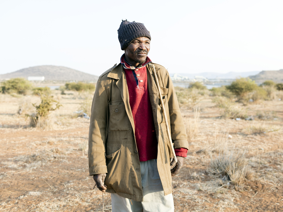 63 – William Nkuna, 51, head herdsman in the community of Ga-Molekane Village, Mapela, Limpopo, Northern Limb