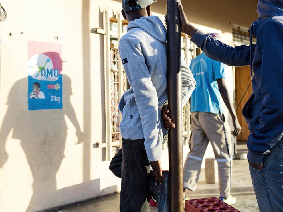 35b – Youth without employment, Maphanga Supermarket, Mantjakane Village, Limpopo, Eastern Limb