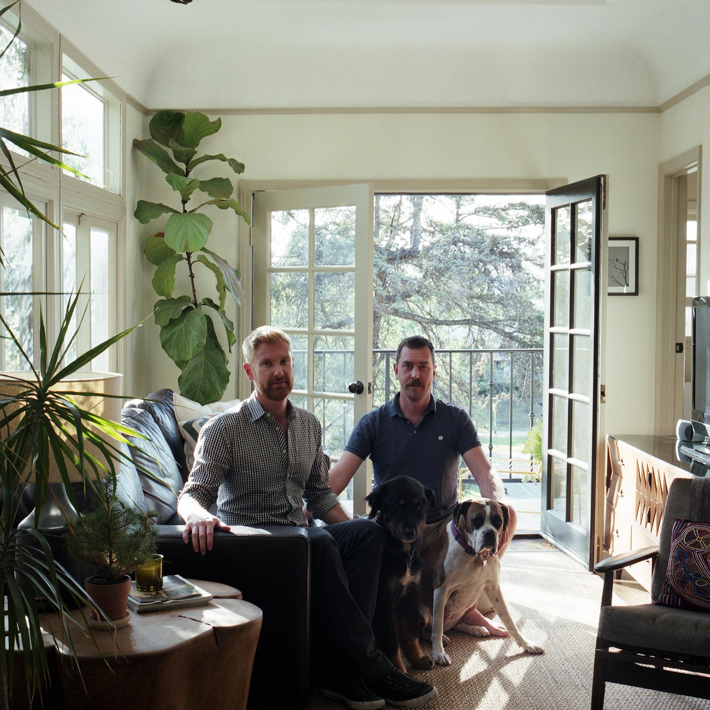 Colin Dusenbury + Thaddeus Herrick, Los Angeles, CA, 2015