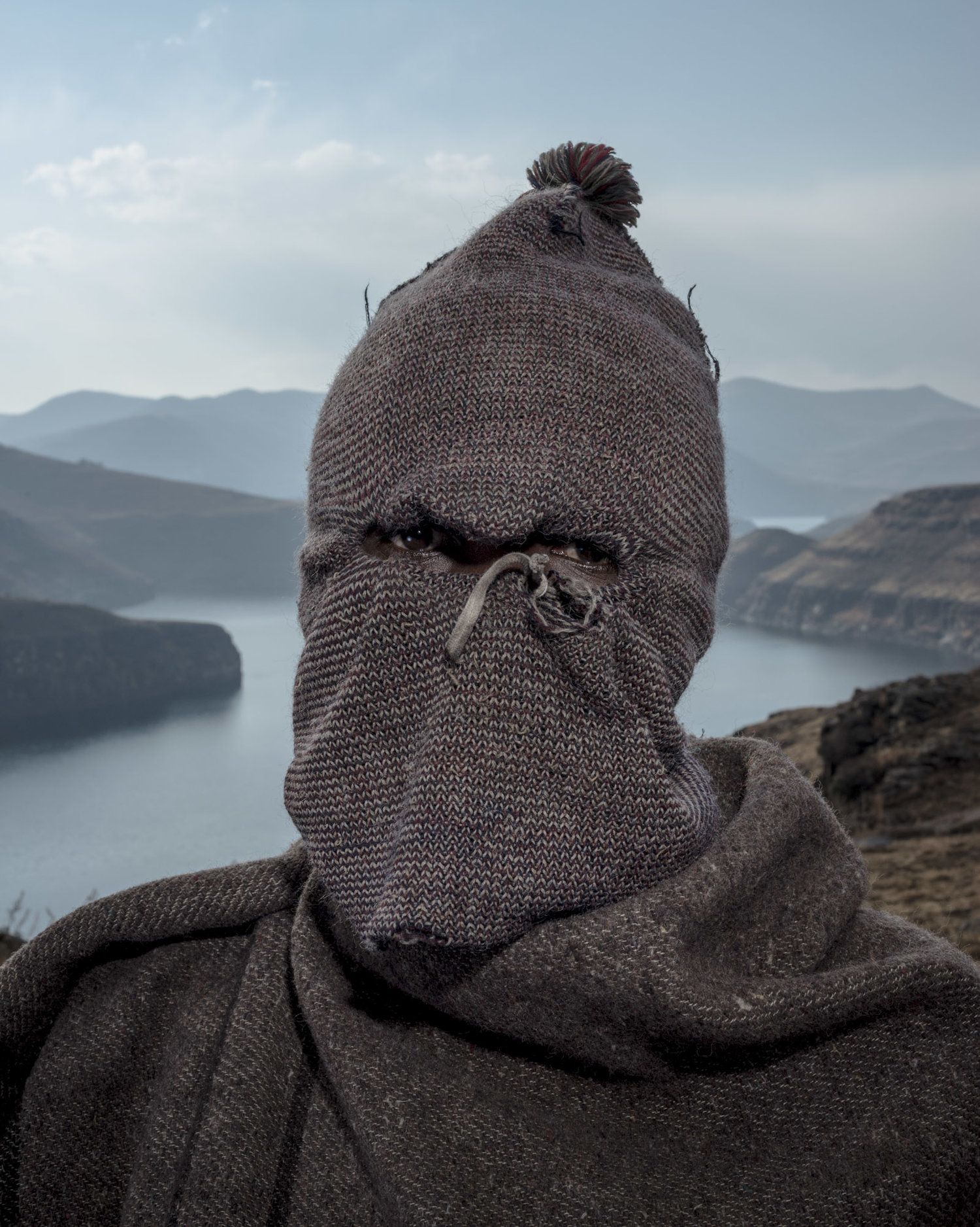"David Southwood, ""Balaclava 9,"" from the series, Kaste Dam, 2015."