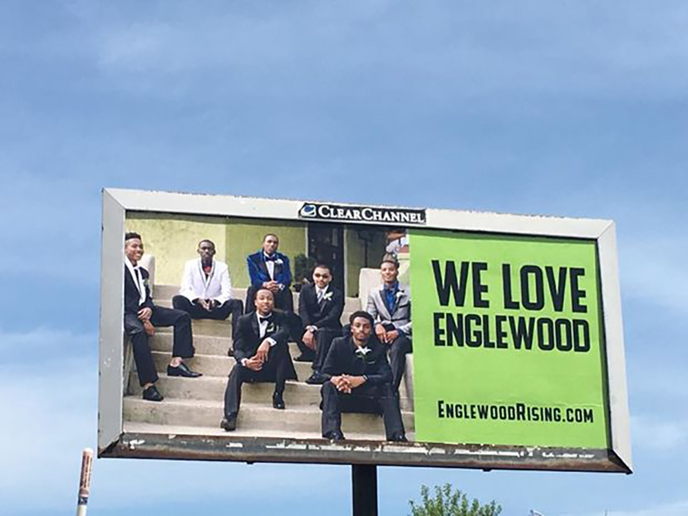 Billboard We Love Englewood