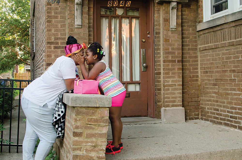 Englewood love moment