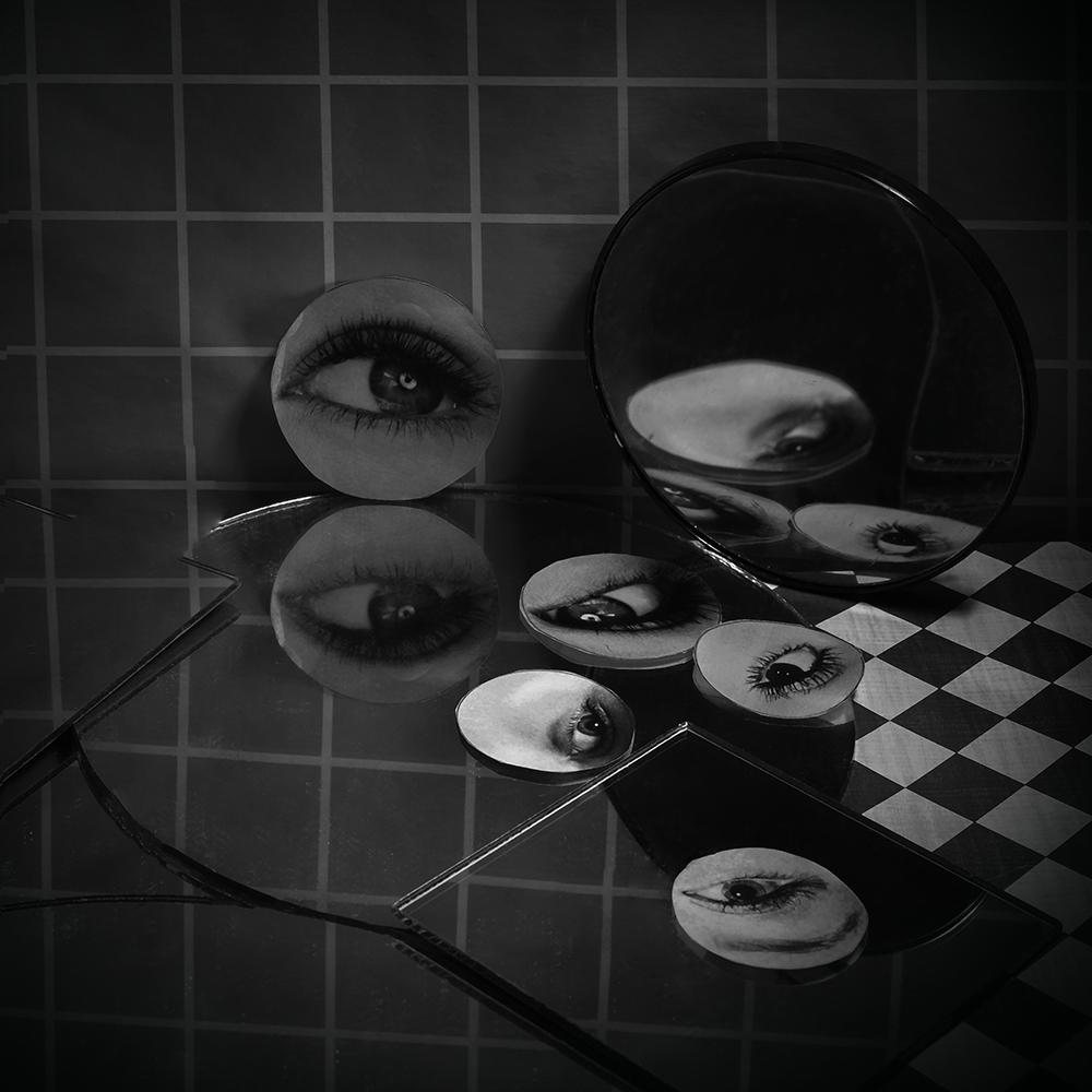 Eyes and Mirrors No. 2 © Ashley Witt, 2018