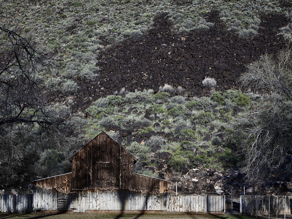 13 - Barn Wall with Lava