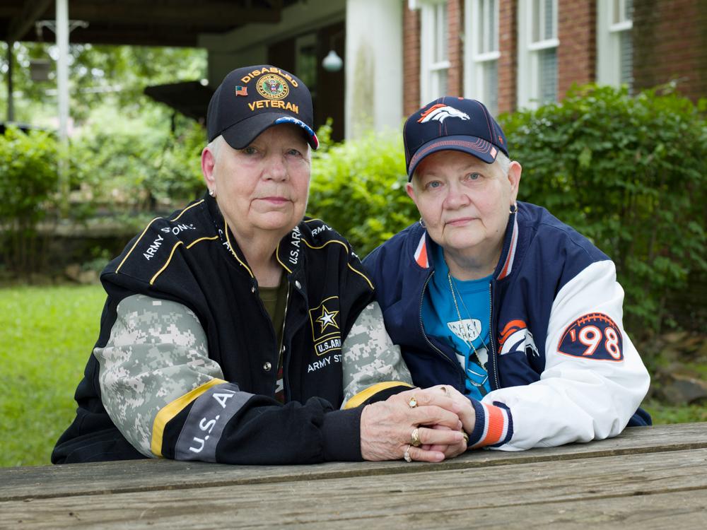 Hank, 76, and Samm, 67, North Little Rock, AR, 2015