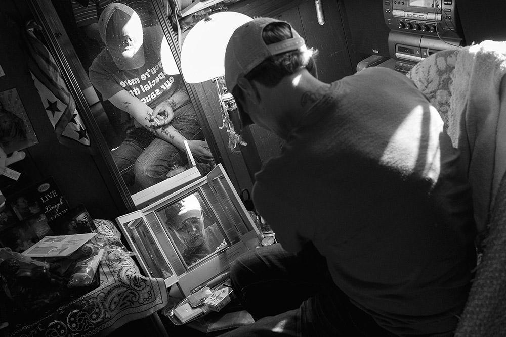 Jared Ragland, from the series GOOD BAD PEOPLE: Methamphetamine Use on Sand Mountain, Marshall County, Alabama jaredragland.com