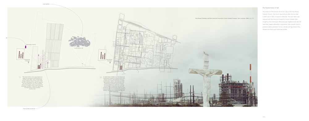 The Transformation of Taft, from Petrochemical America, photographs by Richard Misrach, Ecological Atlas by Kate Orff (Aperture 2012)