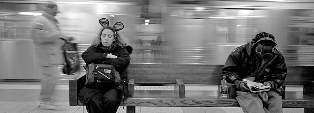 Subway series pic render Image 15.5 x 42.5 Paper 40.64 x 50.8Maria luisa/frame 50 x 70