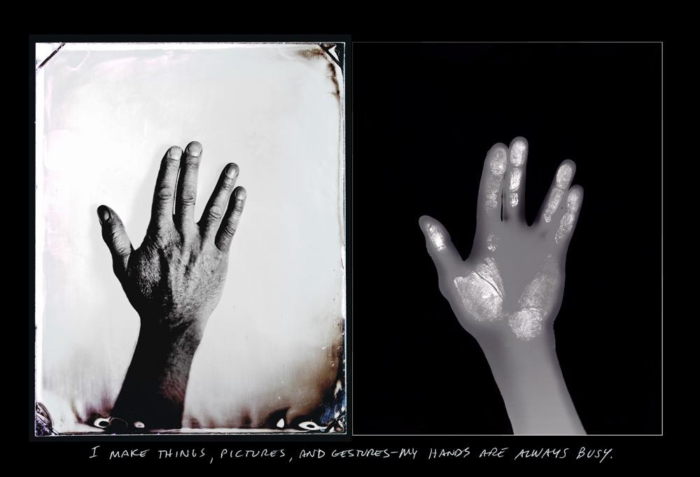 Bill Westheimer hands
