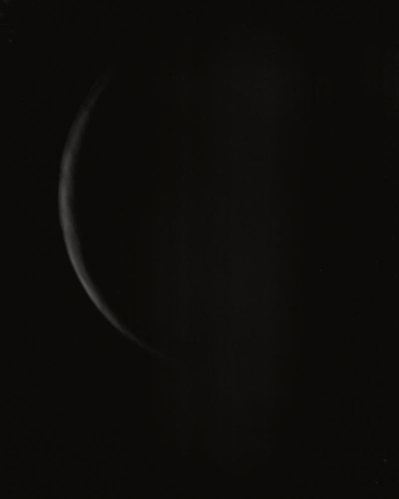 01-611 Moon, telescope, Radius Print