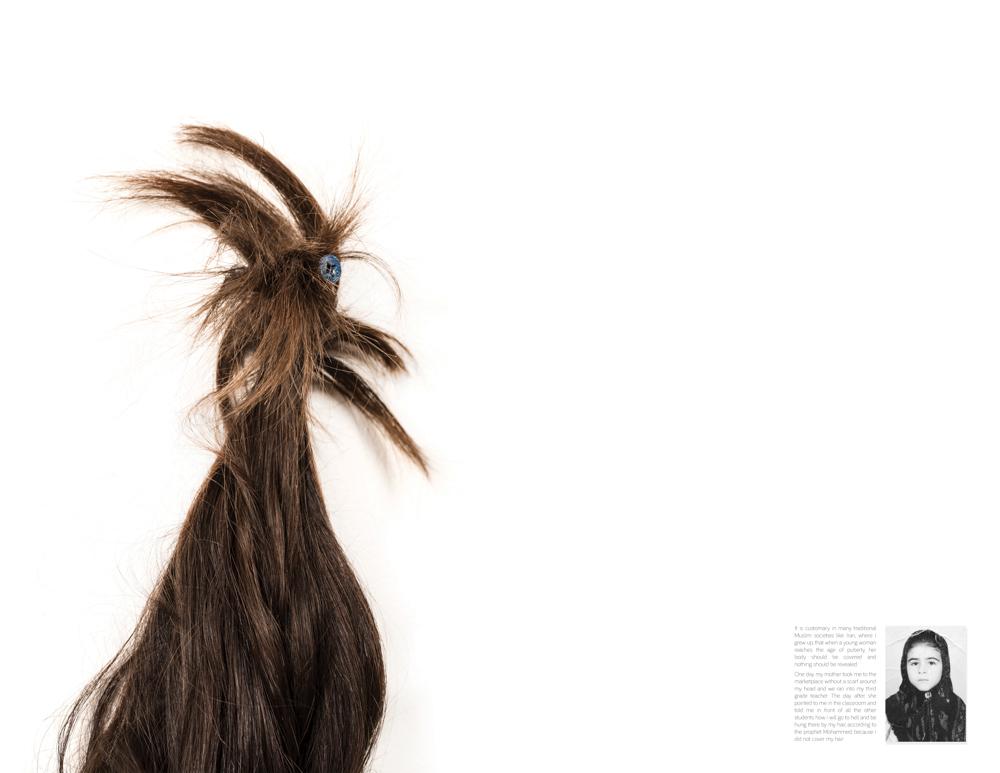 Fazilat Soukhakian_Forbidden Hair_2016