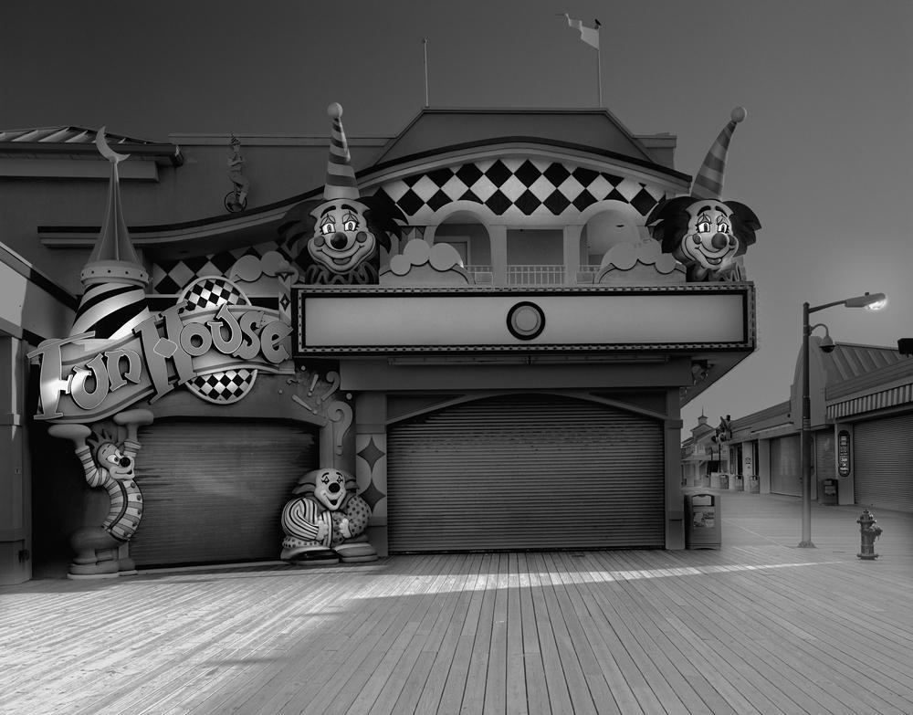 2-Point Pleasant Fun House-2010-44_x_54 Split Toned Gelatin Silver Print