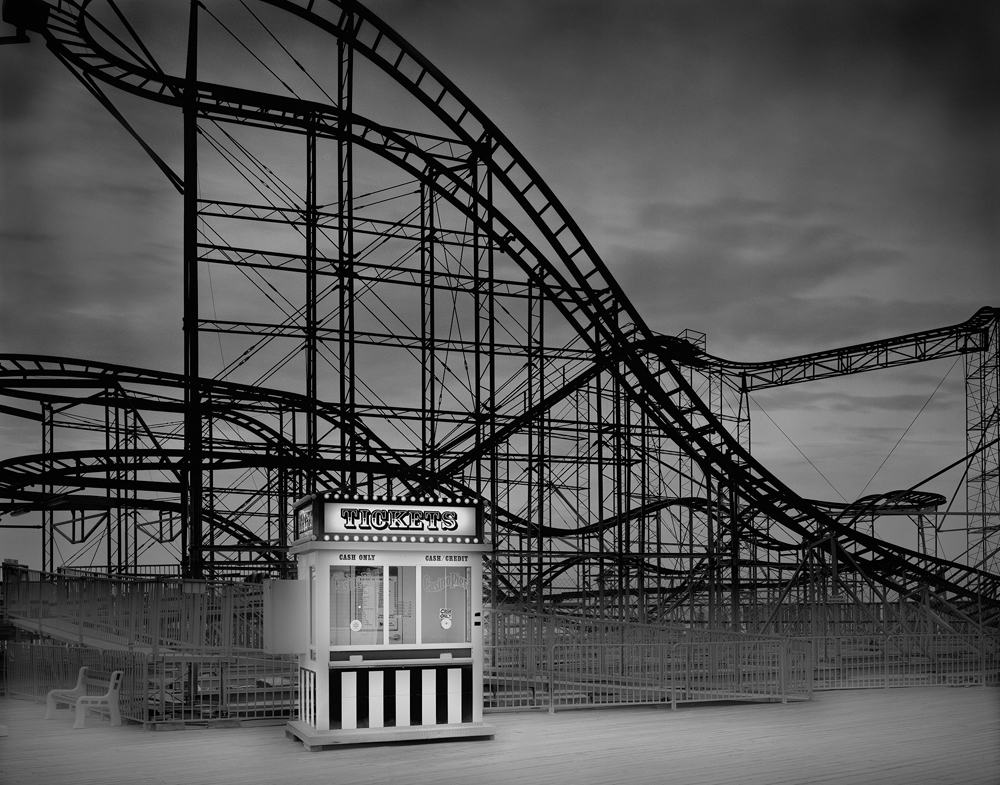 4-The Star Jet Coaster-2009-22_x28_ Split Toned Gelatin Silver Print