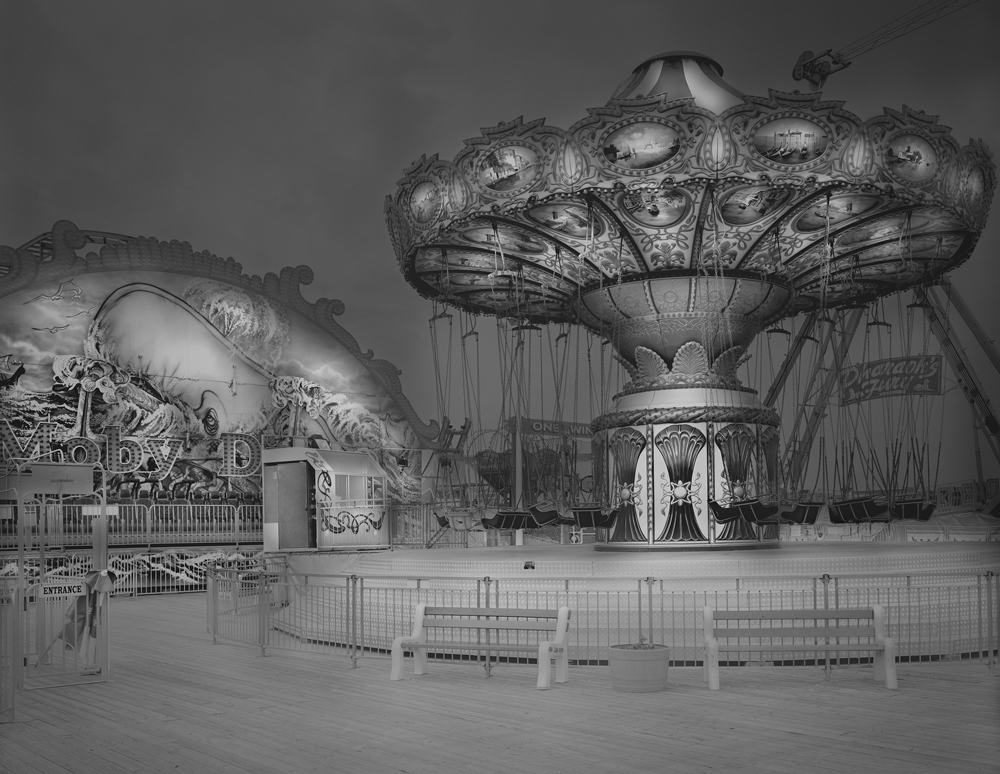 5-Moby Dick & Swing Ride-2009-30_x40_ Split Toned Gelatin Silver Print