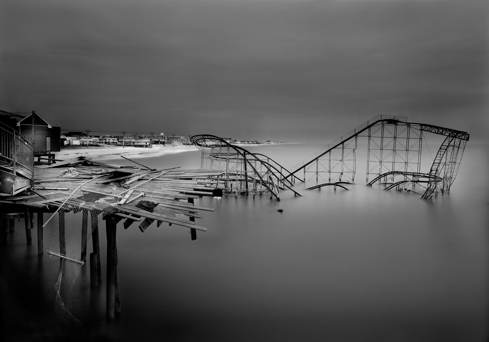 7-Casino Pier-Remnants 2012-22_x28_ Gold Toned Gelatin Silver Print