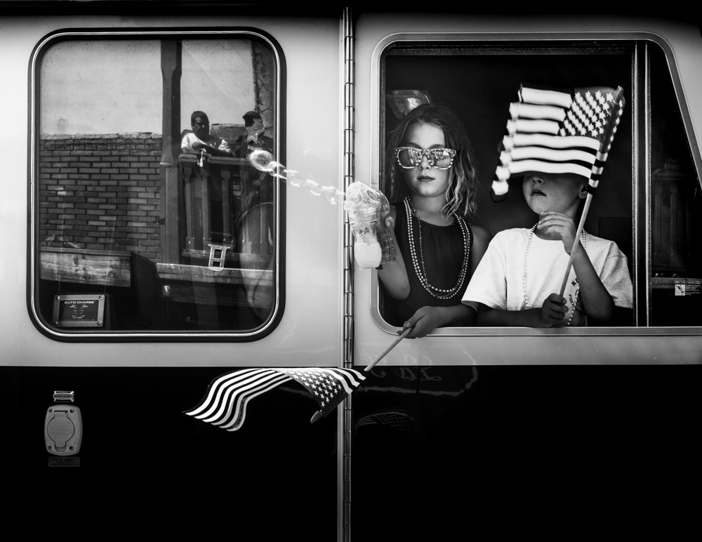 Happy4th ..... #July 4 #streetphotography #truckee #parade #americanflag #photography #fineart #photooftheday #streetphoto_bw