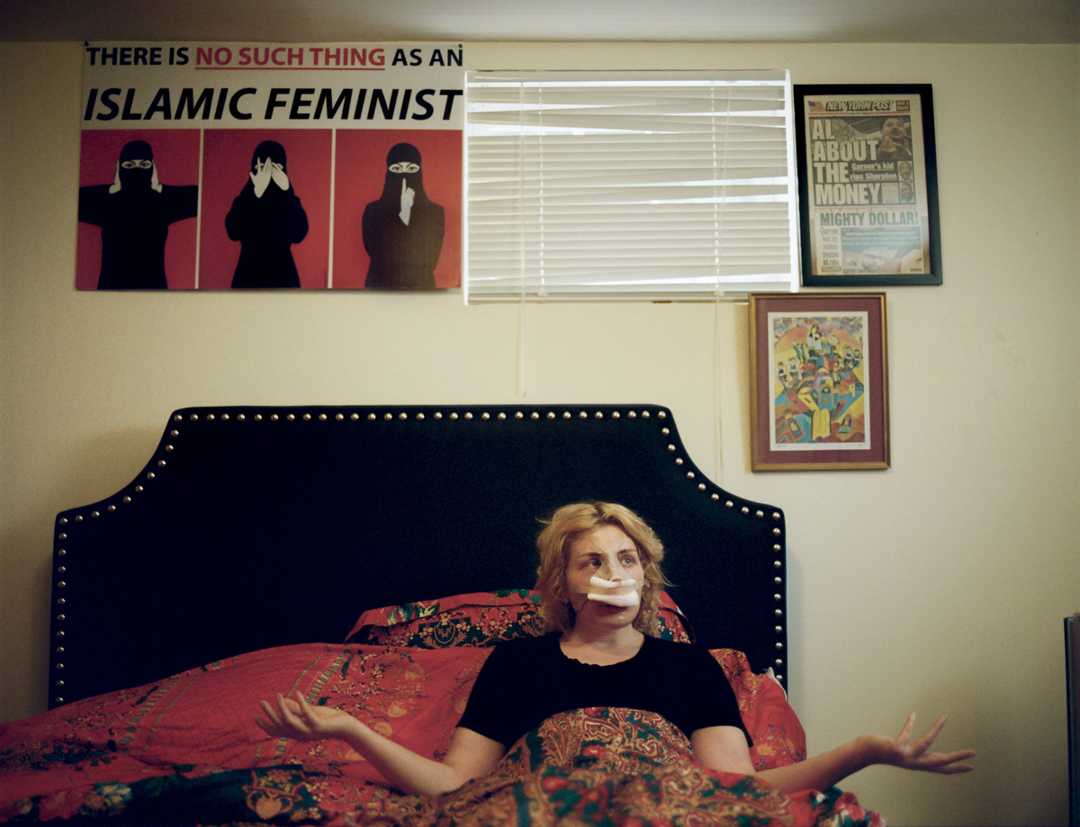 Laura Loomer, an anti-Islam activist, is unique in her role in the extreme right because she is Jewish. After being continuously trolled by David Duke and others, which included pictures posted of her photoshopped in to gas chambers, she decided to get a nose job so she could further her own agenda without appearing so Jewish. Her antiIslam activism drives islamophobia in the USA, and she also plays the important role of victim within the far right twittersphere. Lauren Southern and others enjoy taking pot shots at her, and Pamella Geller was quick to distance herself from the toxic Loomer as well.