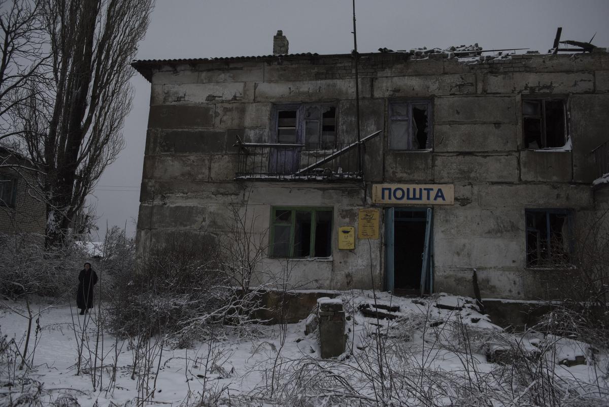 A resident of the Yasnoye settlement in the Donetsk Region.