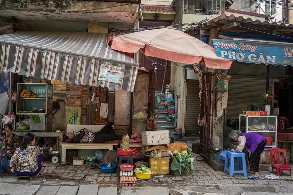 Market, Hanoi, Vietnam