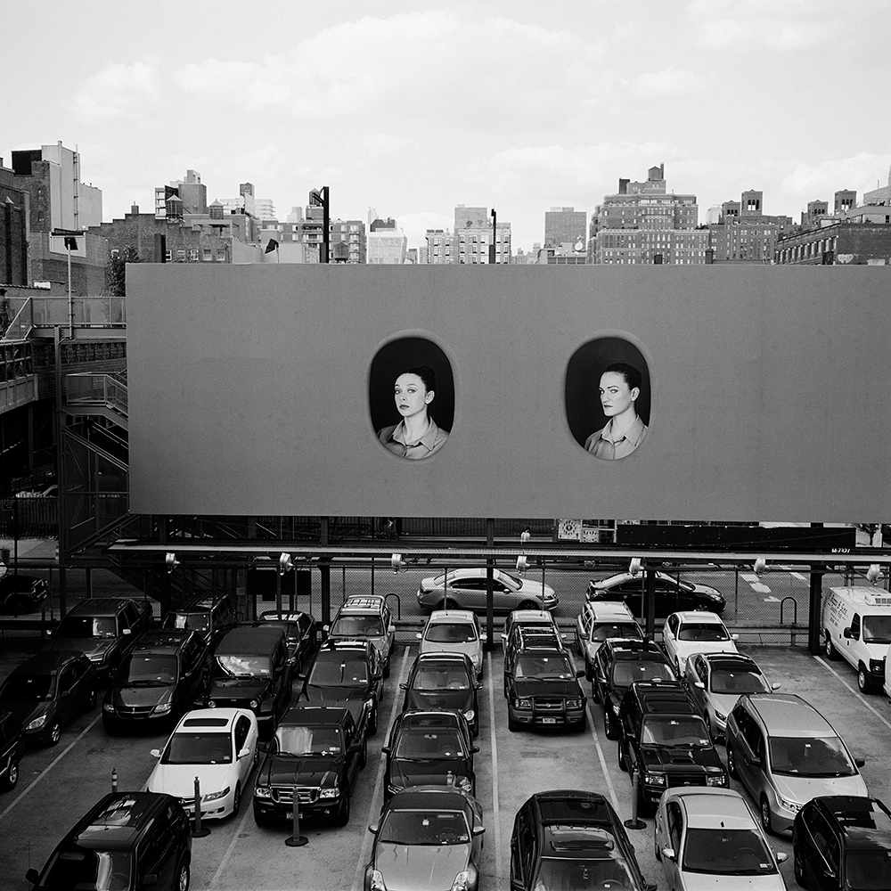 view of Elad Lasry's installation on the Highline