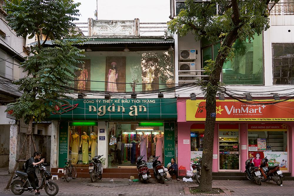 Shops, Hanoi, Vietnam